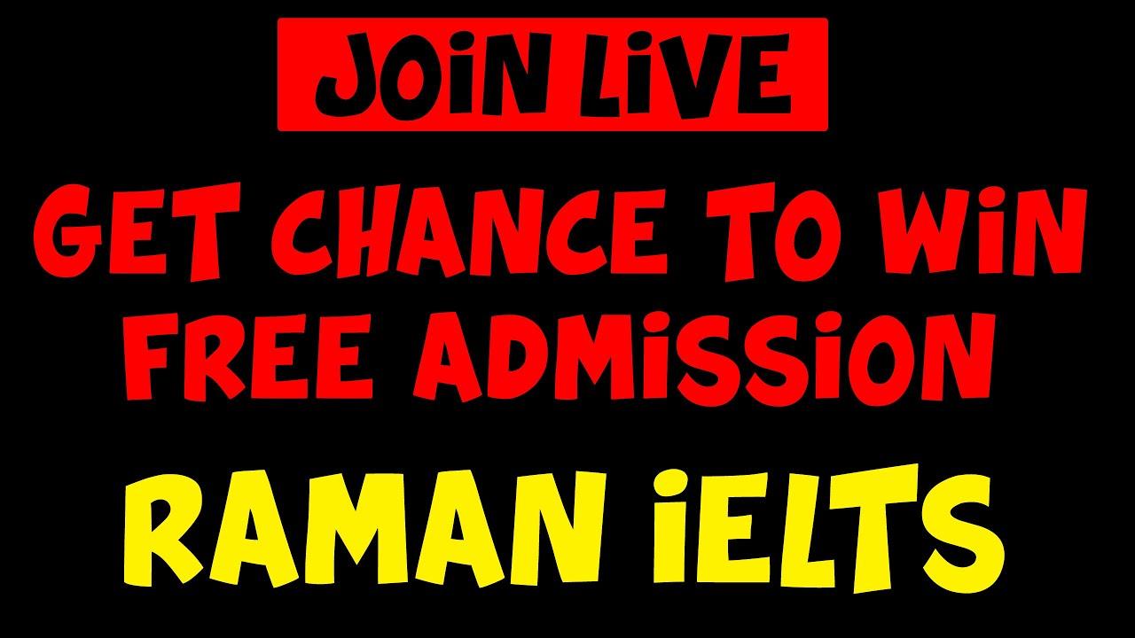 RAMAN IELTS LIVE