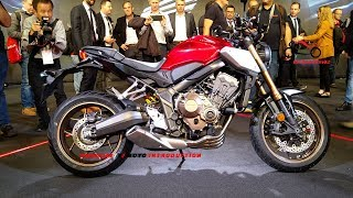2019 Honda CB650R Neo Sports Café First Look | 2019 Honda CB650R Debuts at EICMA 2018