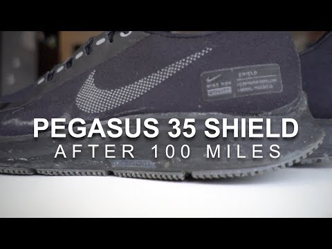 3248e0a6b0b79 Pegasus 35 Shield - After 100 Miles Pegasus 35 Shield - After 100 Miles  kofuzi. NIKE ODYSSEY REACT Running Shoes - A Runners Review