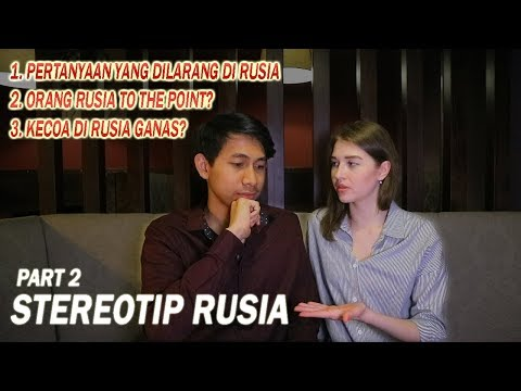 PACARAN DI RUSIA WAJIB TINGGAL BARENG?? - STEREOTIP RUSIA