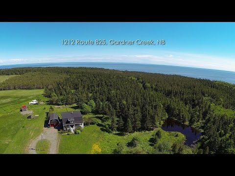 Oceanfront, home for sale, 1212 Route 825, Gardners Creek, NB