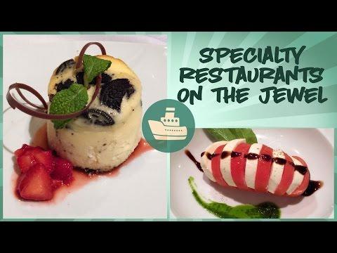 Norwegian Jewel Specialty Restaurants