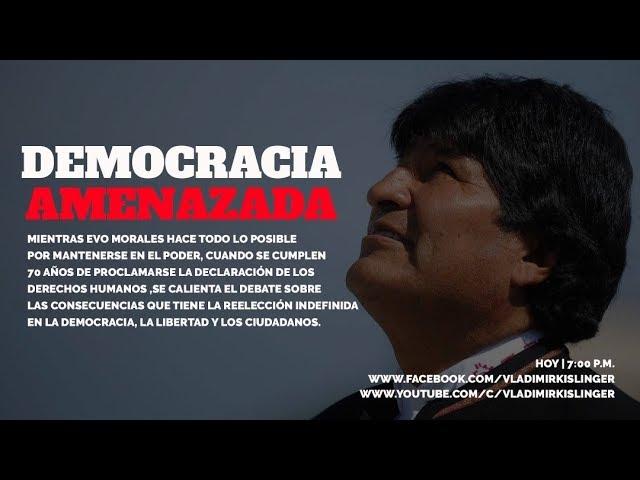 BOLIVIA: TSE AVALA POSTULACIÓN DE EVO MORALES PESE A RESULTADO 21F - PARTE 2