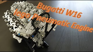LPE W16 Bugatti, Lego Pneumatic Engine