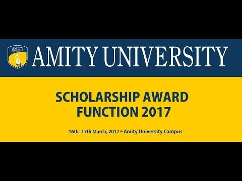 Scholarship Award Function 2017 - 17th March 2017
