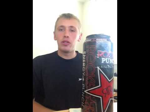 Drink Review - Rockstar Punched: Fruit Punch
