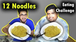12 Noodles Yummy Dare Eating Challenge - #YummyDare