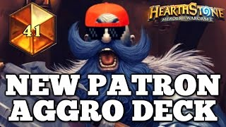 Hearthstone NEW PATRON WARRIOR AGGRO DECK - Neirea Constructed