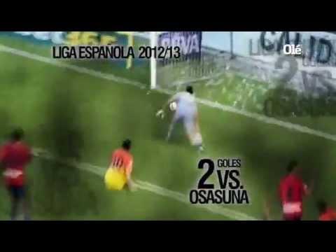 Messi, Mira sus 90 Goles en 2012. (Parte 2)