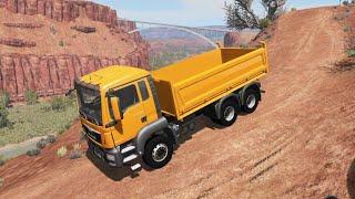 Gerçekci Kamyonet Oyunu - Kamyon Oyunları  MAN TGS 6x4 Dump Truck Desert Driving