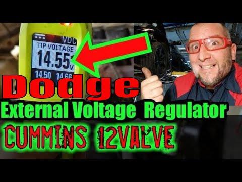 How to install External Voltage Regulator dodge chrysler