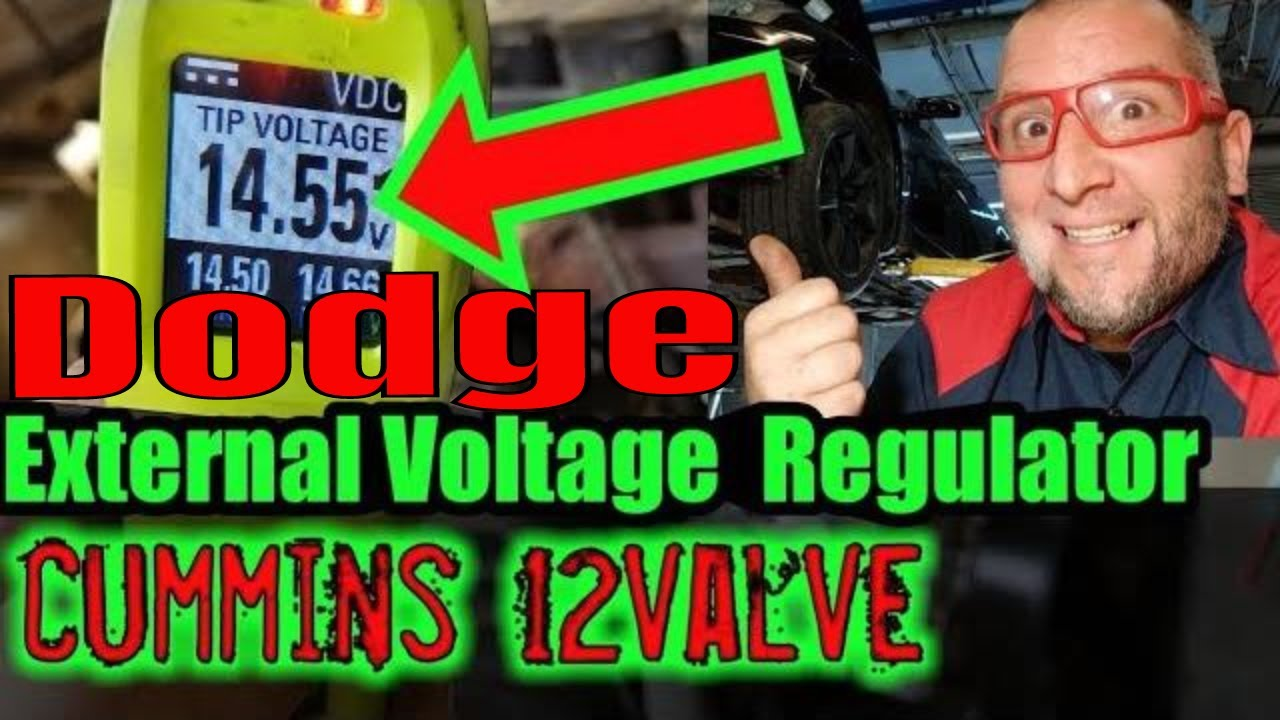 hight resolution of how to install external voltage regulator dodge chrysler jeep wire voltage regulator 12v cummins