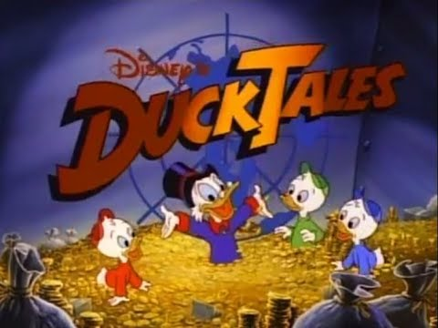 ducktales intro theme tune animated titles original 1980s youtube. Black Bedroom Furniture Sets. Home Design Ideas