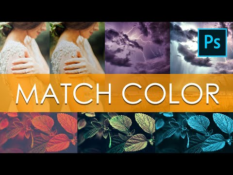 Match Color Photoshop || Changing Images Colors Easily & Quickly - RED PIXELS