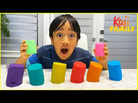 How to Make DIY Play dough homemade recipe and more Kids arts and Crafts activities!!