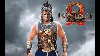 Dhoni as Bahubali 2 mash scenes