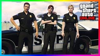 GTA Online Crooked Cops Update, Rockstar