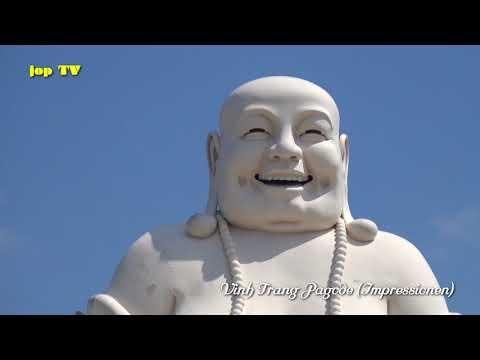 Vinh Trang Pagode My Tho Vietnam Vacation Travel Guide HD jop TV