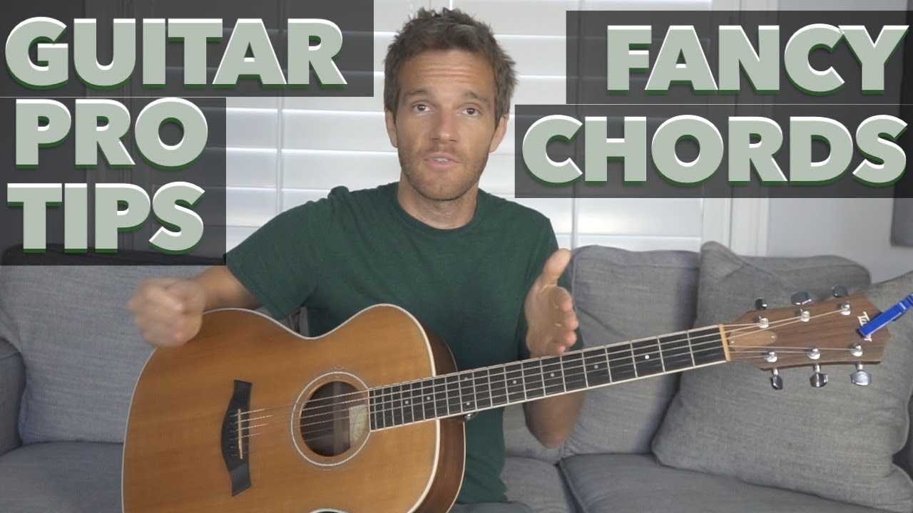 Guitar Pro Tip Fancy Chords Youtube