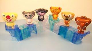 Льодовиковий період: Континентальний дрейф 2012 МакДональдз набір з 6 іграшки з Хеппі Міл огляд