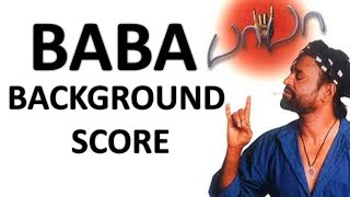 Baba BGM | A.R.Rahman | Background Score | Superstar Rajinikanth | H.Sridhar | பாபா | Suresh Krishna