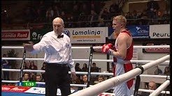 Nyrkkeily - boxing: Rain Karlsson EST - Tomi Honka FIN 2-1