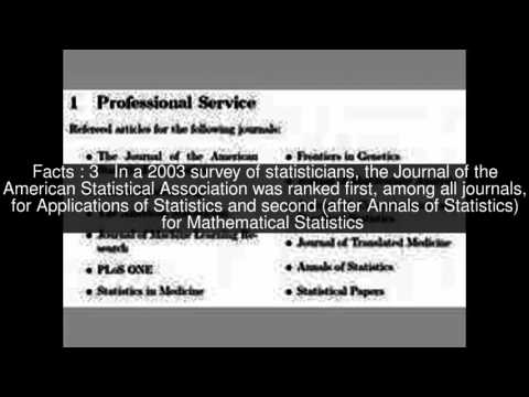 Journal of the American Statistical Association Top  #5 Facts