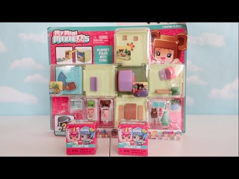 Thumbnail: My Mini MixieQ's Camping Playset + Blind Boxes