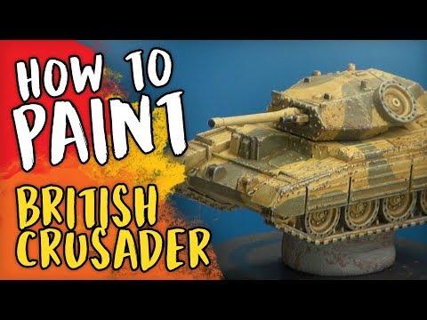 3 Colours Up: Flames of War - British Crusader