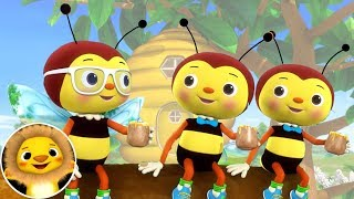Honey Bees!   Nursery Rhymes & Kids Songs!   Videos For Kids   Little Baby Animals
