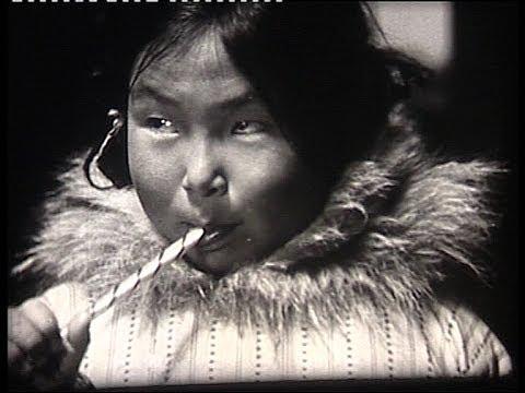 Eskimo/Inuit children in 1940, Alaska
