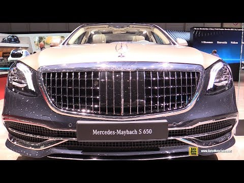 2019 Mercedes Maybach S650 - Exterior And Interior Walkaround - Debut At 2018 Geneva Motor Show