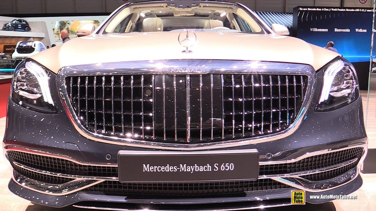 2019 mercedes maybach s650 - exterior and interior walkaround