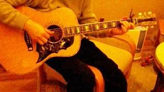 半年振りにフォークギターを弾こうとしたら一弦が錆びて切れた。一弦だ...
