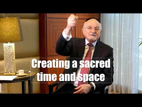Creating sacred time and space
