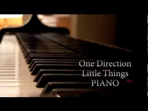 One Direction - Little Things (PIANO cover by J-Me)