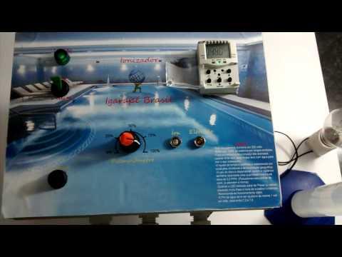 Ionizador igarap brasil piscina sem cloro youtube for Ionizador piscina