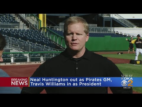 Pirates Fire General Manager Neal Huntington