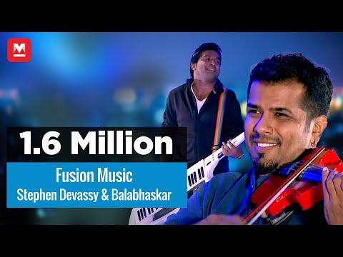 Stephen Devassy | Balabhaskar | Live Fusion Music | Magnificent Performance | Jayaragangal