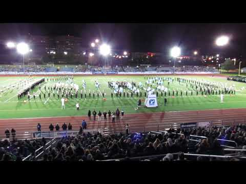 Newsday 2018 Northport Tiger Marching Band Field Show