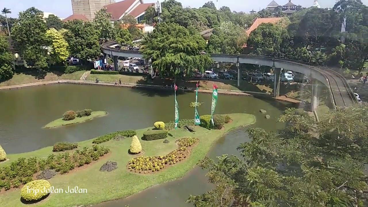 Seru Naik Kereta Gantung Taman Mini Indonesia Indah Jakarta Youtube