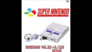 XBOX 360- Como jogar (Emulador de SUPER NINTENDO) C/[pendrive]