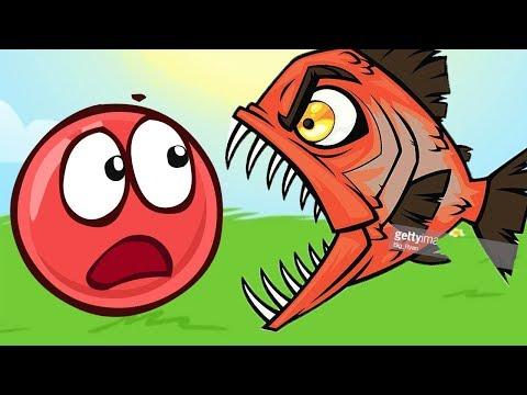 Новый КРАСНЫЙ ШАР, Шарик Красныш ест конфеты, мультик игра, Детский летсплей #83 новое