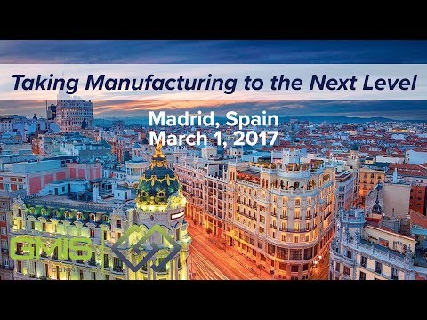 GMIS Connect Roadshow - Madrid, Spain (March 1, 2017)