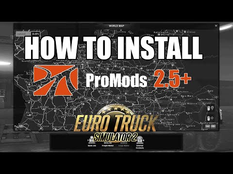 HOW TO INSTALL PROMODS 2.46  ETS2
