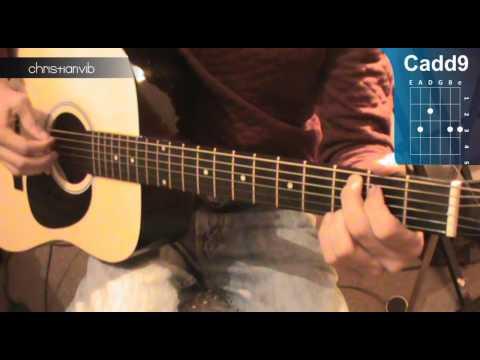 Cómo tocar Little Things de One Direction en Guitarra HD Tutorial  Christianvib