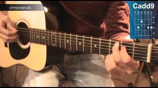 "Cómo tocar ""Little Things"" de One Direction en Guitarra (HD) Tutorial - Christianvib"