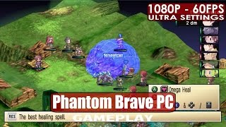 Phantom Brave PC gameplay PC HD [1080p/60fps]