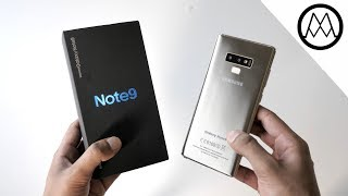 Samsung Galaxy Note 9 Unboxing! (Clone)
