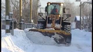 Чистка от снега дорог в сельских поселениях ГТРК Вятка